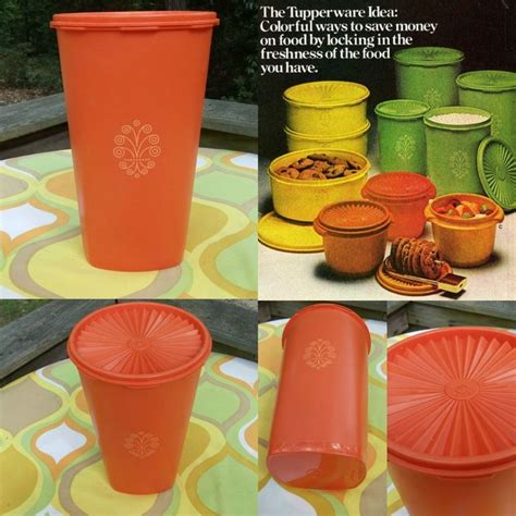 Tupperware Blossom Orange 1000 images about tupperware yesterday and today on