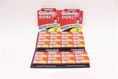 Alat Cukur Gillette Goal silet cukur goal merah jawatimuronline