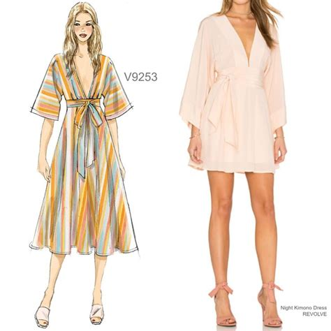 sewing pattern kimono dressing gown 406 best quot sew the look quot inspiration images on pinterest