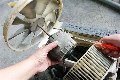 air conditioner fan motor replacement how to replace a fan motor in an air conditioner