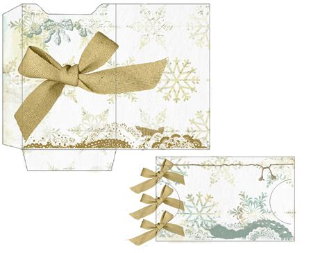 World Gift Card - glenda s world christmas gift card sleeve with card
