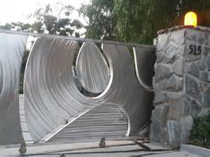 Modern Home Design Ranch Designer Gates North Hollywood Malibu Ca Iron Gates