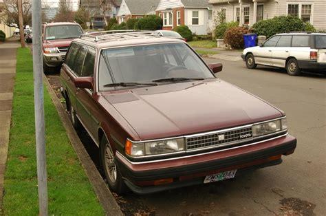 1986 Toyota Wagon Parked Cars 1986 Toyota Cressida Wagon