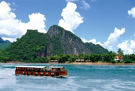 cruising unexplored regions of the mekong on a laos