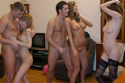 This Is A Strictly No Clothes Swinger Party P