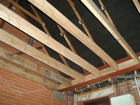 Garage Joists Building Extension A Garage Construction Diary Before