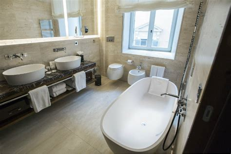 bathrooms in rome the renovated luxury palazzo fendi in rome