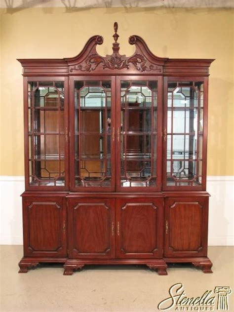 henkel harris china cabinet 2619 henkel harris mahogany 4 door 2382 breakfront china