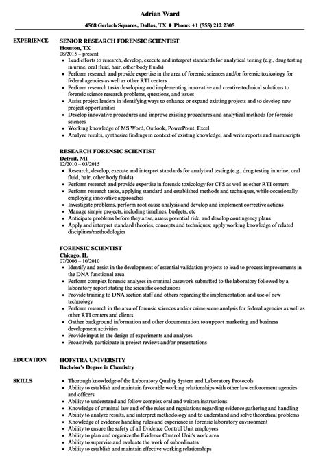 Digital Forensic Examiner Sle Resume by Forensic Officer Sle Resume Digital Print Manager Sle Resume