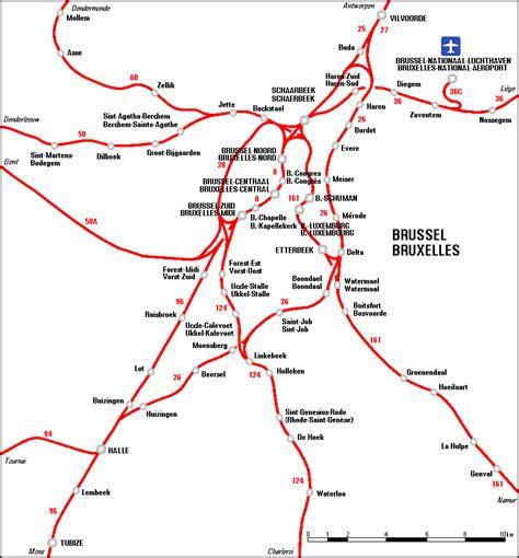 belgian rail map belgian rail network maps