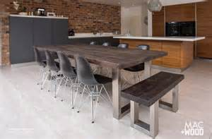 Modern Wood Kitchen Table The Signature Table By Mac Wood See Our Most Popular Design