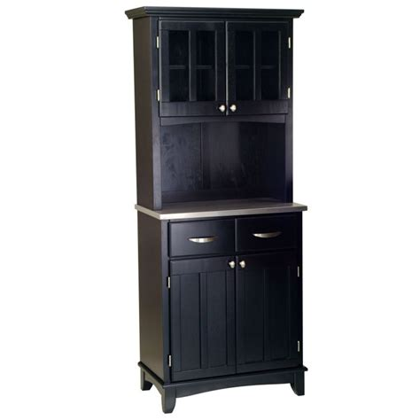 Small Bakers Rack by Home Styles Small Wood Bakers Rack With Two Door Hutch Www