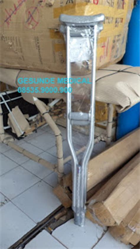Alat Kesehatan Tongkat Kruk Tongkat Ketiak Alat Bantu Jalan S M L tongkat kruk ketiak onemed toko medis jual alat kesehatan