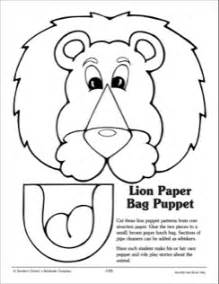 paper bag puppet templates paper bag puppet pattern 2015 vbs