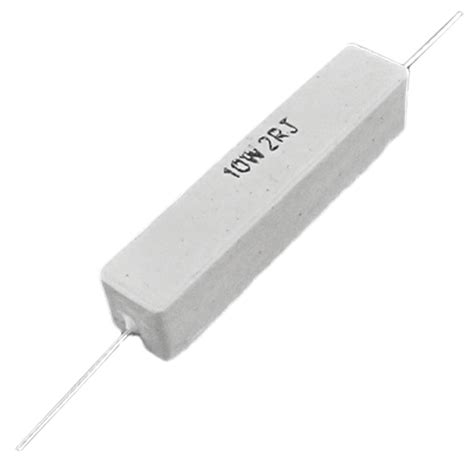 10 ohm ceramic resistor 10 pcs wire wound ceramic cement resistor 2 ohm 10w watt mk ebay