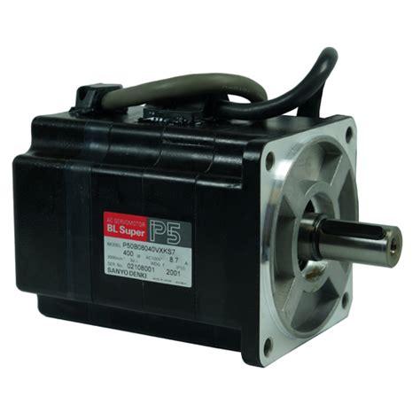 Ac Sanyo Aqua Series sanyo denki p5 series brushless ac 400 watt servomotor p50b08040 servo dynamics