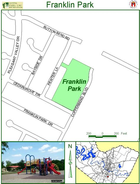 franklin texas map franklin park map 4800 copperbend blvd mappery
