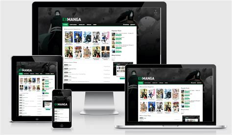 templates blogger anime exmanga responsive anime blogger template way templates
