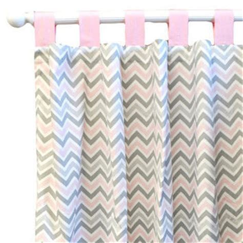Best Gray Chevron Curtains Products On Wanelo Chevron Nursery Curtains