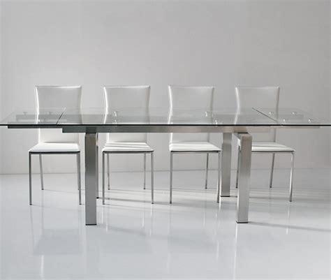 table salle a manger verre table verre rallonge salle manger
