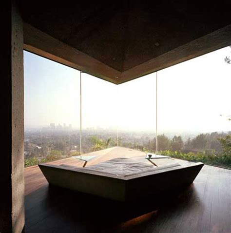 glass wall house glass wall home in the hollywood hills modern house designs