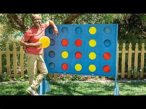 backyard connect four how to diy backyard connect four hallmark channel