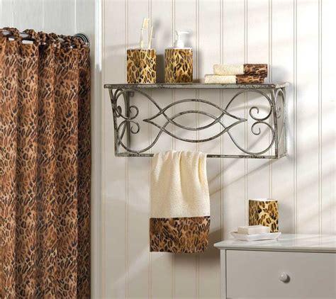 animal print bathroom ideas leopard print complete bath decor for sale item 316624