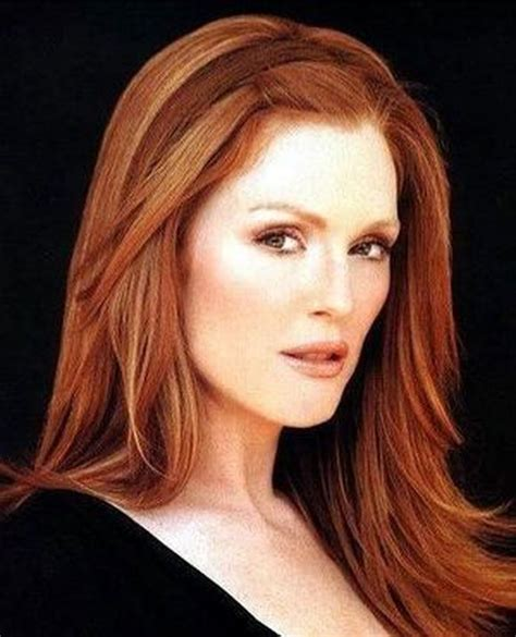dors julianne moore have natural red hair top redhead hairstyles 2013 stylish celebrity red hair