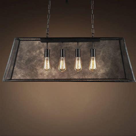 warehouse of tiffany edison 4 light kitchen island pendant lemuel 4 light black 30 inch edison island chandelier with