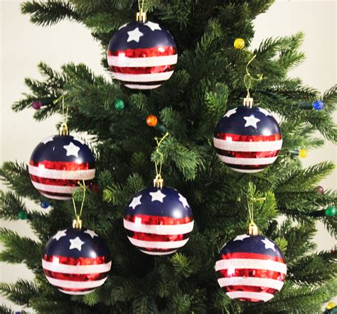 wholesale quot stars stripes quot christmas ball ornaments buy