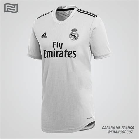 Jersey Real Madrid Away 2018 New Season 2018 19 real madrid home shirt prediction football shirt