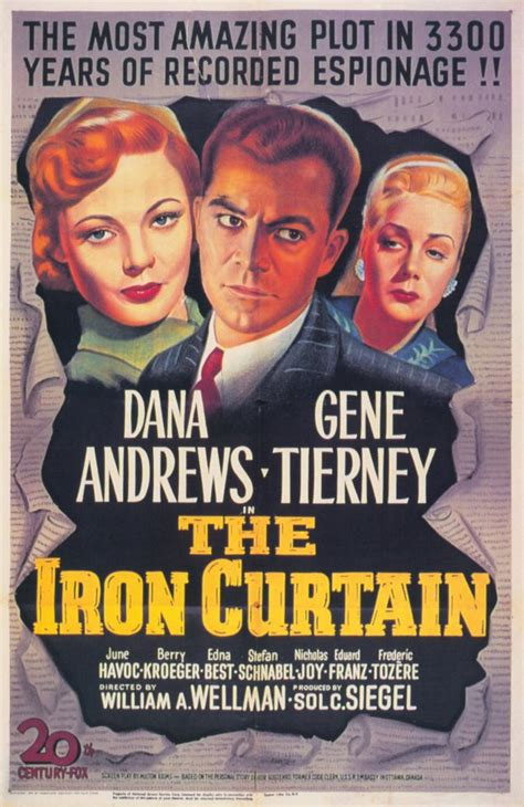 Iron Curtain Movie Posters From Movie Poster Shop