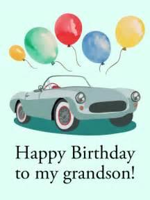 happy birthday card for grandson birthday greeting cards by davia
