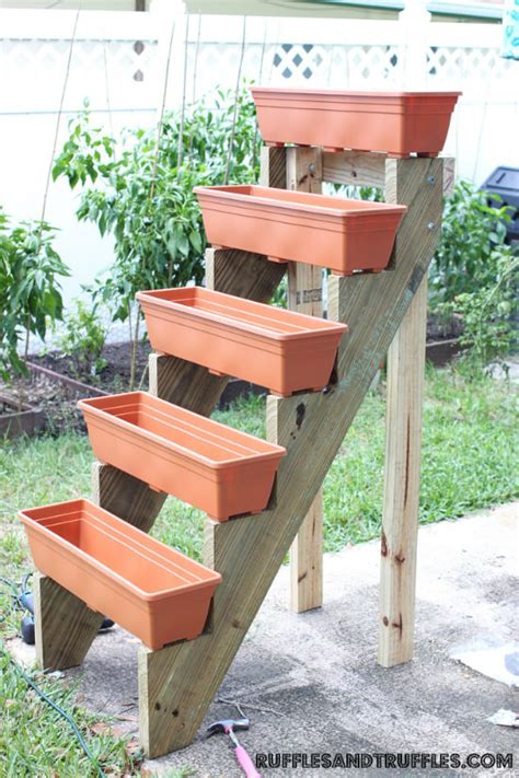 Outdoor Planter Box Ideas by Outdoor Planter Projects The Garden Glove