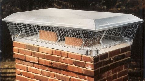 Chimney Mesh Covers - outside chimney cap measure the at fireplacemall