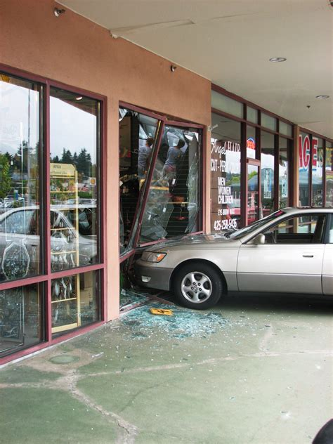 wild afternoon as car crashes into wild birds unlimited