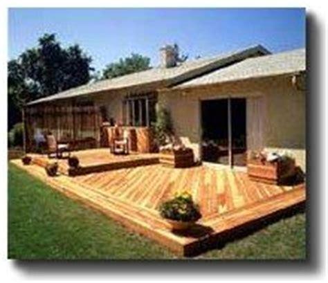 Backyard Deck Ideas Ground Level 1000 Ideas About Ground Level Deck On Ground