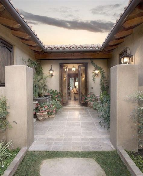 spanish courtyard designs small spanish courtyard entry this could be an