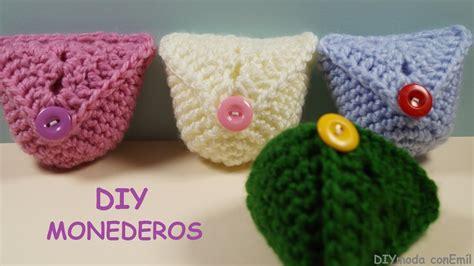 crochet monederos monedero a crochet paso a paso