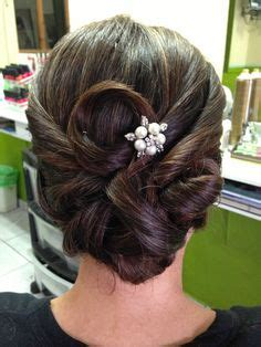 Wedding Hair Up Covering Ears by Woven Barrel Curls By Peggy Festerling Wedding Hair And
