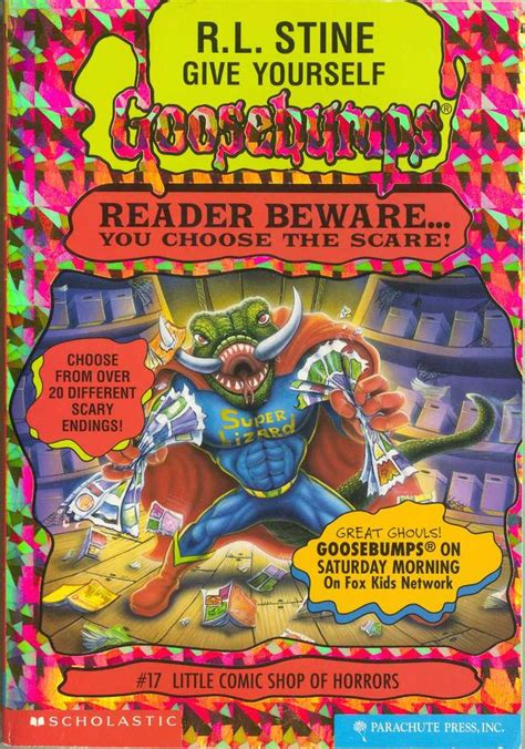 list of goosebumps books with pictures list of goosebumps books