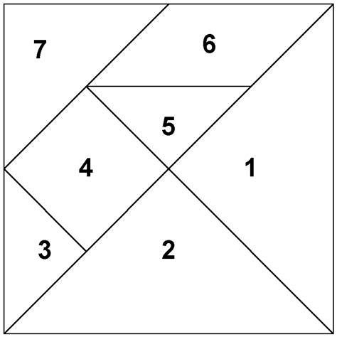 tangram cuadrado manitas de gato diy tangram