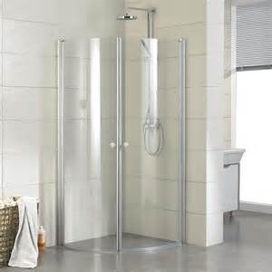 Corner Bath With Shower Enclosure 34 Quot X 34 Quot Halvor Round Corner Shower Enclosure Shower