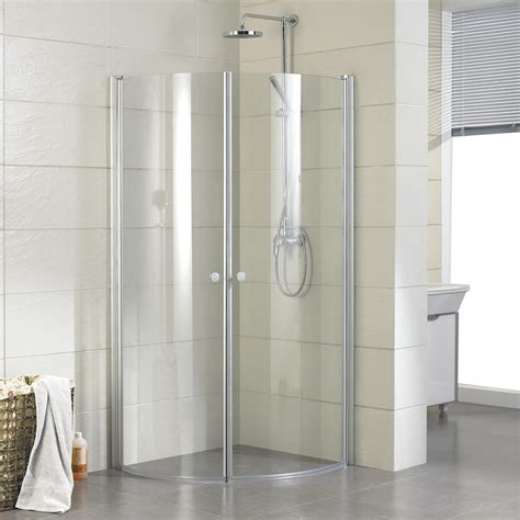 Bathroom Corner Shower Bathroom Corner Glass Shower Enclosure With Black Door Handle And Black Shower Set With Brown