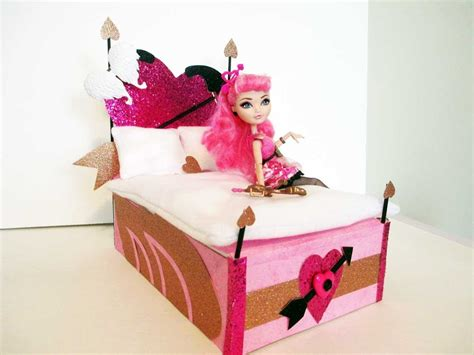 how to make bed higher how to make a c a cupid doll bed tutorial monster high