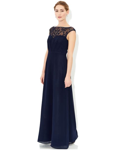 Luxe Dresses From Monsoon maisie maxi dress navy monsoon 210 dresses