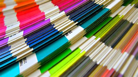 color stack wallpaper 1920x1080 paper colored stack hd