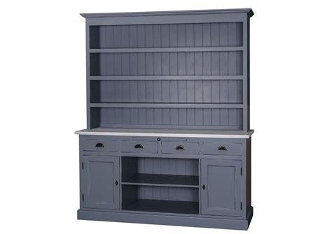 acheter buffet cuisine acheter votre buffet de cuisine en pin massif bleu avec portes et tiroirs chez simeuble