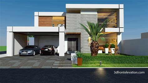 front elevation beautiful modern style house design home 3d front elevation com beautiful contemporary house