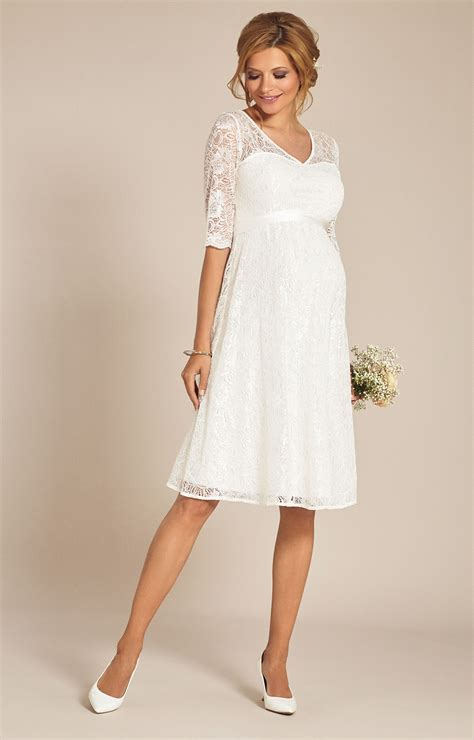 Hochzeitskleid Kurz by Flossie Umstands Hochzeitskleid Kurz Elfenbein